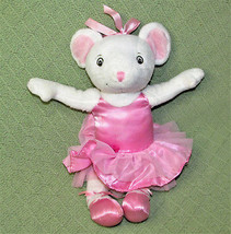 "Sababa Toys ANGELINA BALLERINA Poseable Mouse Doll 14"" Plush Stuffed Ani... - $18.69"