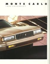 1988 Chevrolet MONTE CARLO sales brochure catalog SS 88 Chevy - $9.00
