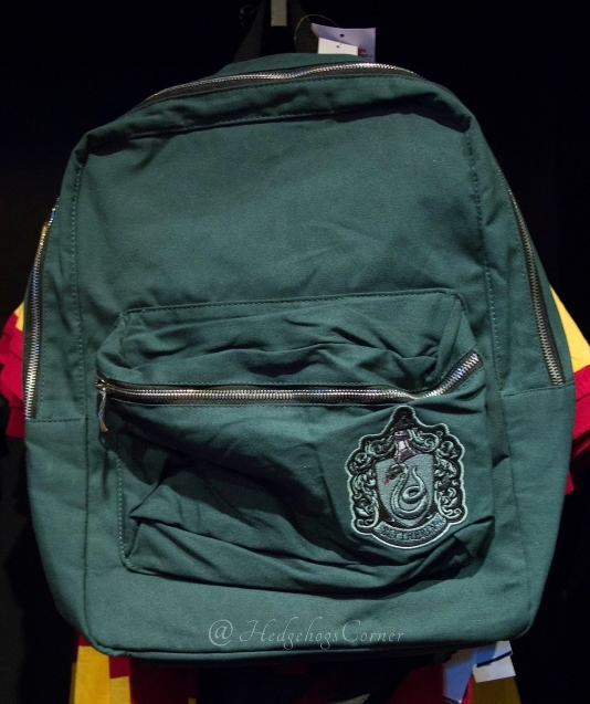 Wizarding World Harry Potter Slytherin Crest Lined Green Backpack NEW