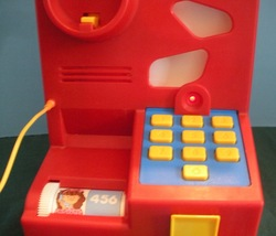 Vintage Fisher Price #2021 Record & Playback Telephone COMPLETE/NEAR MINT! image 4
