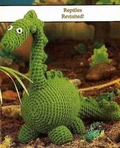 Y757 Crochet Pattern Only Dinosaur Rex Toy Pattern - $8.50
