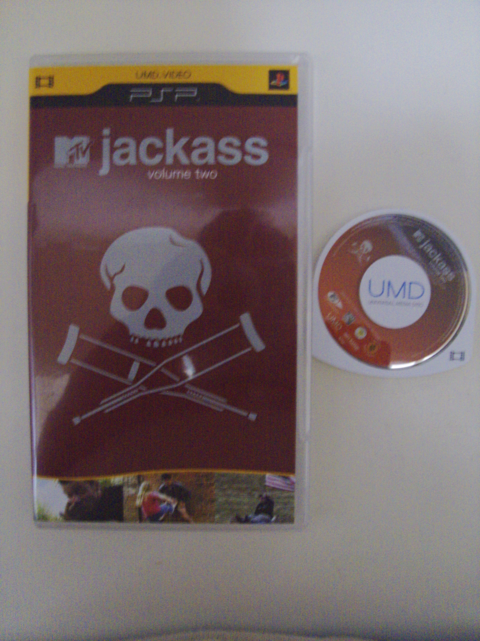 Jackass Volume Two 2 UMD Video PSP Playstation Portable