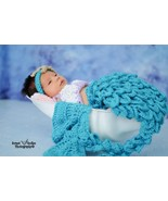 Hand crocheted mermaid costume/photography prop for baby/infant/newborn - $45.00