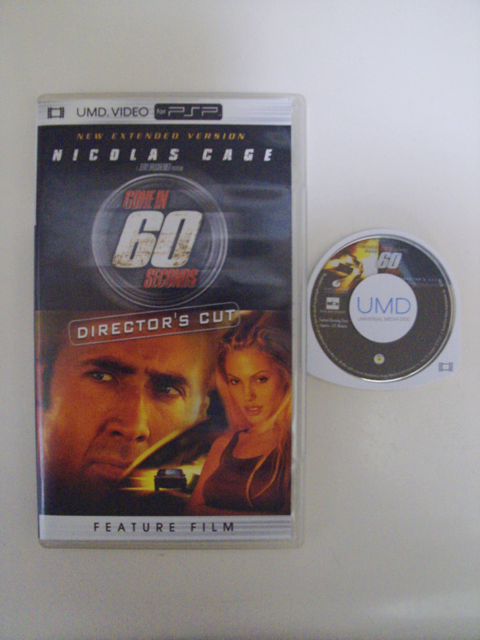 Gone In 60 Seconds UMD video PSP Playstation Portable
