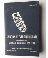 AVIATION ELECTRICIAN'S MATE ~Aircraft Electrical Systems 1949 US NAVY BOOK - $44.55