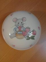 "Mikasa, Teddy CC018,  ChildsTrinket Box, circular 3.5""diameter, 2.5"" tal... - $6.99"