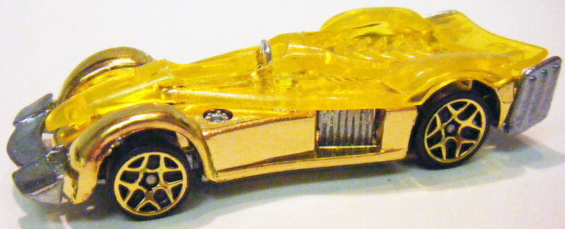 Primary image for Hot Wheels 2007 Mystery Car 177 Road Rocket Gold 5y_gold wheels