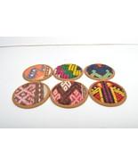 kilim coaster,coaster set ,coasters ,coaster, (4.5) inch,handmade  Coast... - $29.00