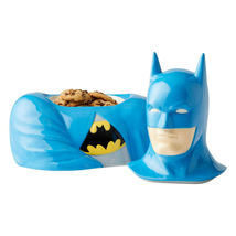 "10.5"" High DC Comic Batman Stoneware Cookie Jar Celebrates 80th Anniversary image 3"