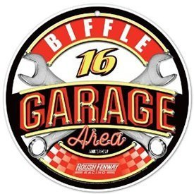 Primary image for Greg Biffle #16 Round NASCAR [Misc.]