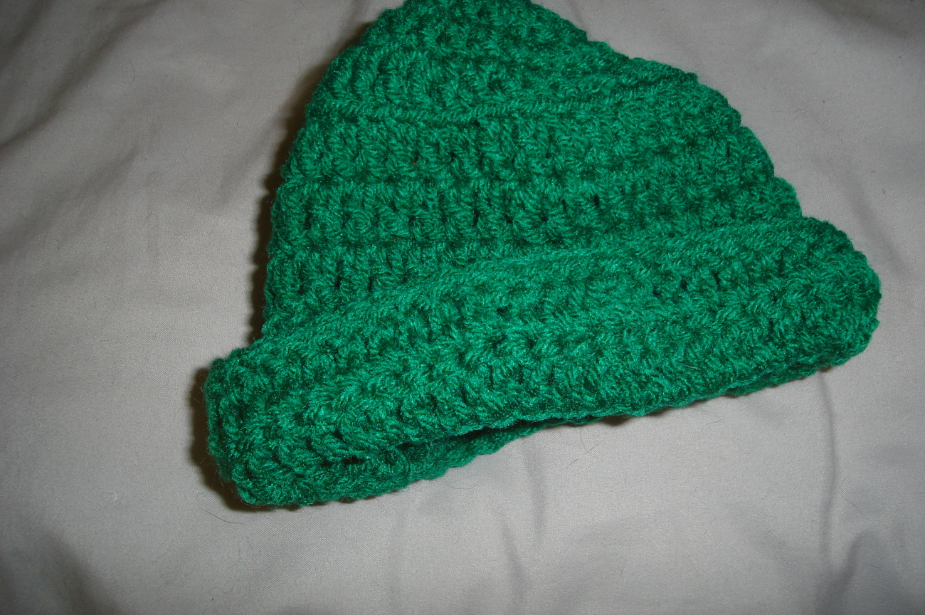 Crochet St. Patrick's Day green derby/cap/hat, bow tie & diaper cover costume/p