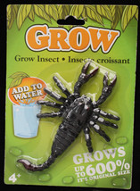 Poison Bug Insect Prank MAGIC GROWING SCORPION Halloween Horror Prop Dec... - $4.92