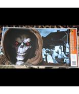 Lg Gothic GRIM REAPER CEMETERY SCENE GRABBER Floor Wall Cling Sticker De... - $4.92