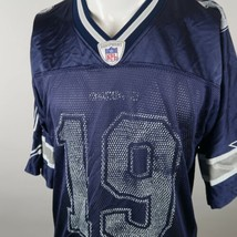 Reebok Navy Keyshawn Johnson 19 NFL Dallas Cowboys Football Jersey Mens ... - $18.45