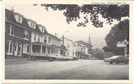 Main Street Texaco Centre Hall Pennsylvania vintage Post Card - $6.00