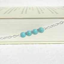 Turquoise Eyeglass Chain, Reading Glasses Chain Eyeglass Holder Necklace... - $20.00