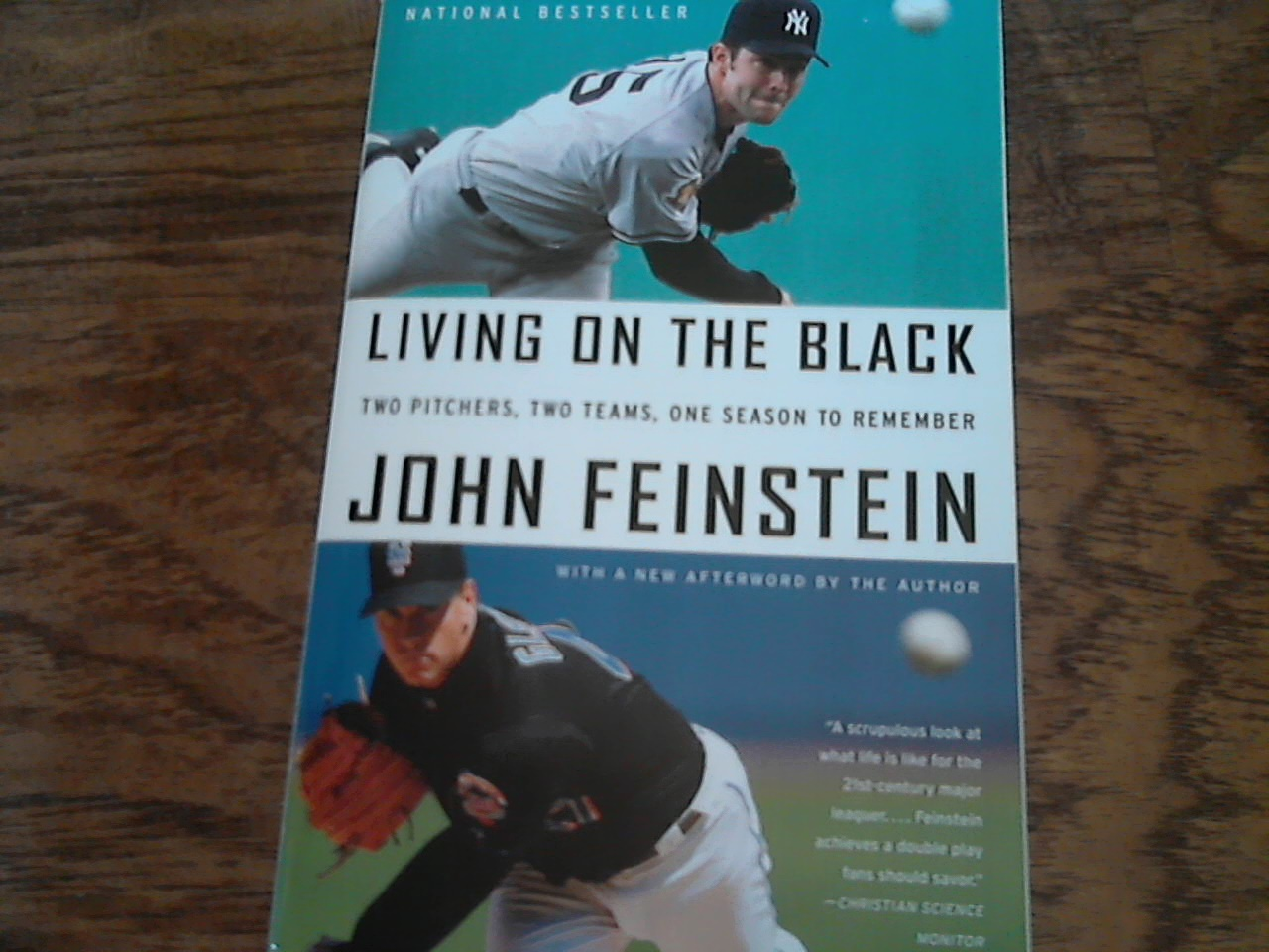 Primary image for Living on the Black By John Feinstein (2008 Paperback)