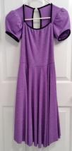 Art Stone Purple and Black Women's Large Sparkling Dance Dress Costume (... - $19.99