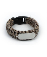 Paracord Travel ID Survival Bracelet. Free engraving and Emergency walle... - $34.99