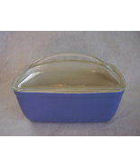 Vintage Hall Westinghouse Covered Loaf Casserole Dish Blue - $41.99