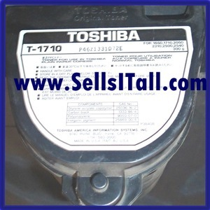 Primary image for Brand NEW Genuine Toshiba T-1710 Black Toner T1710
