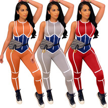 Women Bodycon Jumpsuit Hollow Out Fitness sWomen Summer Outfits Rompers - $23.99