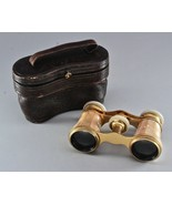 Antique 1800s Excellent. All part PARIS Mother of Pearl OPERA GLASSES an... - $59.00