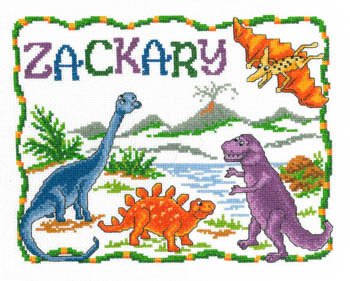 Primary image for Once Upon A Dinosaur cross stitch chart Imaginating