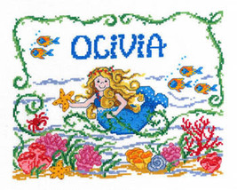 Once Upon A Mermaid cross stitch chart Imaginating - $5.40