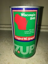 7 UP UNCLE SAM CAN 1976, WISCONSIN - COMPLETE YOUR COLLECTION!! - $7.99