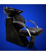 Salon Backwash Station Unit Ceramic Shampoo Bowl Sink Chair Beauty Equip... - $455.88