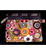 Mod Flower Power All Purpose Zippered Pouch for Smartphone Camera MakeUp... - $14.99