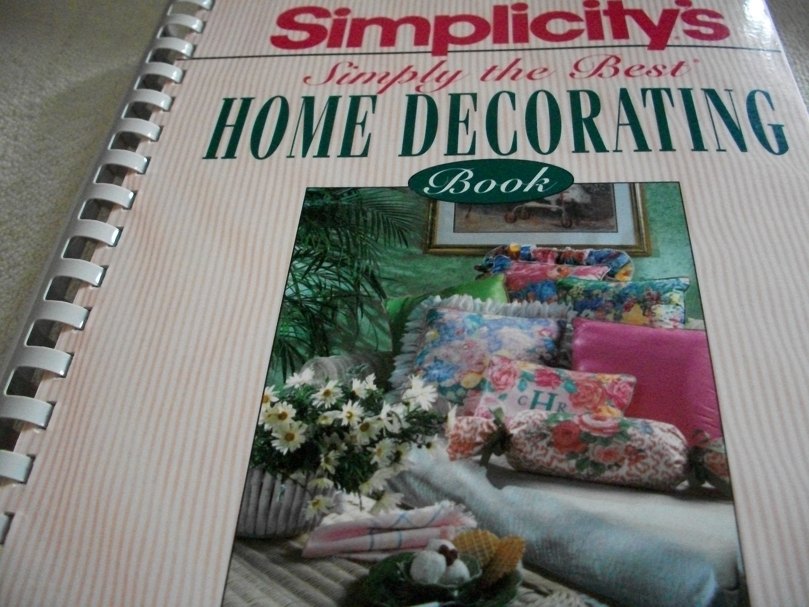 Primary image for Simply the Best Home Decorating Book