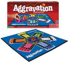 AGGRAVATION BOARD GAME CLASSIC MARBLE RACE FAMILY BOARDGAME PARKER BROTH... - $34.99