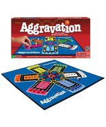 AGGRAVATION BOARD GAME CLASSIC MARBLE RACE FAMILY BOARDGAME PARKER BROTH... - $46.84 CAD