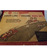 Gilbert American Flyer Auto Rama Which-Lane Chicane Race Set #19075 - $58.06