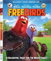 Free Birds Blu-ray + DVD + Digital HD Combo Pack NEW - SEALED - $7.99