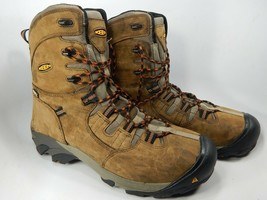 "Keen Detroit 8"" Size US 13 M (D) EU 47 Men's WP Steel Toe Work Boots 1008313"