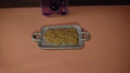 MATTEL BARBIE Doll Holiday Cookie Tray for Dreamhouse-- Food Accessory - $7.25