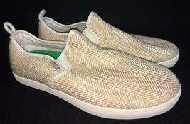 SANUK Men's Range TX Slip On Casual Loafer Shoe Size 9 Chambray natural - $34.99