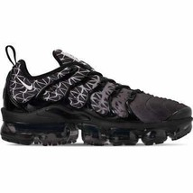 Men's Nike Air VaporMax Plus Running Shoes Black/White 924453 017 - $194.77