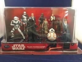 Disneyland  Star Wars The Force Awakens Deluxe Figurine Playset New in P... - $19.80