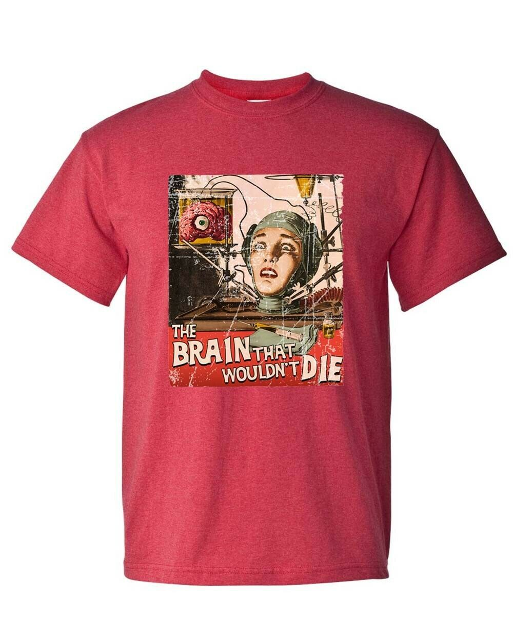 The Brain That Wouldnt Die T-shirt vintage sci fi horror film distressed tee
