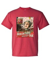The Brain That Wouldnt Die T-shirt vintage sci fi horror film distressed tee image 1