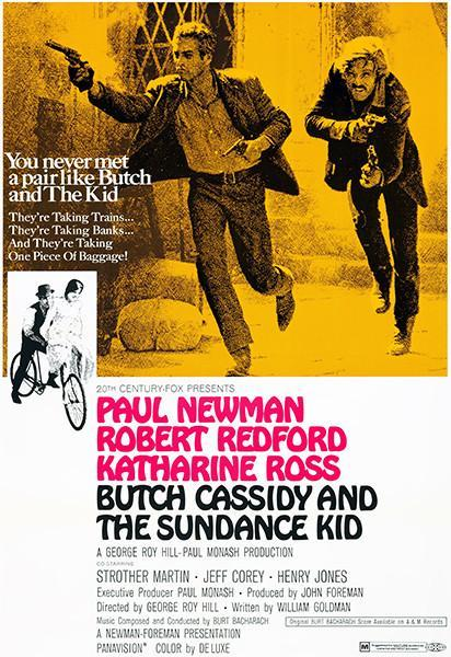 Primary image for Butch Cassidy And The Sundance Kid - 1969 - Movie Poster