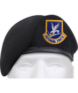 Midnight Navy Blue Defensor Fortis Beret US Air Force Flash Inspection R... - $18.99+