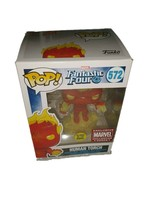 Funko Pop! Marvel Fantastic Four Human Torch 572 glow in the dark action figure - $20.90