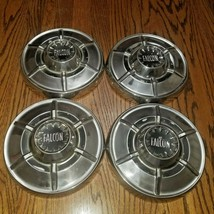 1965 FORD FALCON HUBCAPS DOG DISH SET OF 4  - $99.00