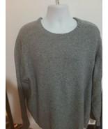 peter millar merino wool nylon alpaca blend pullover blue sweater size 4xt - $44.55