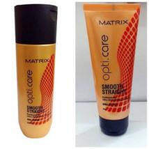 New Matrix OptiCare Smooth Shampoo 200ml And Conditioner 98 gm Free Ship... - $25.11